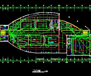 三层某少年活动中心全套电气设计图