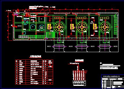 某厂房发电机照明布置设计图