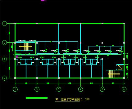 四层商场电气设计图纸