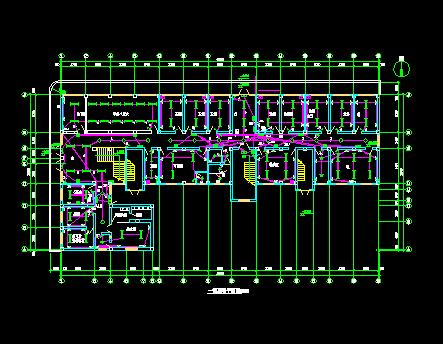 六层医院综合楼电气设计图纸
