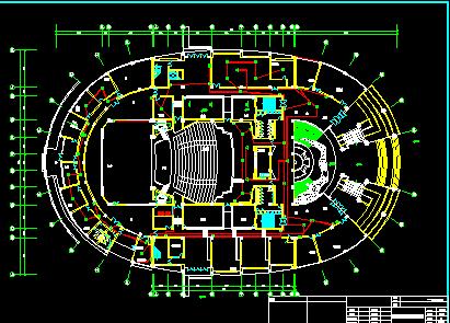 青少年活动中心电气设计图