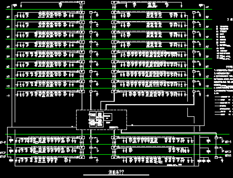 十层公寓消防系统图纸