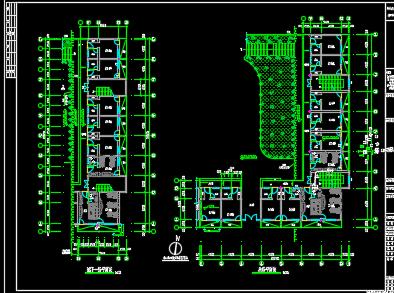 办公楼电气给排水设计图纸