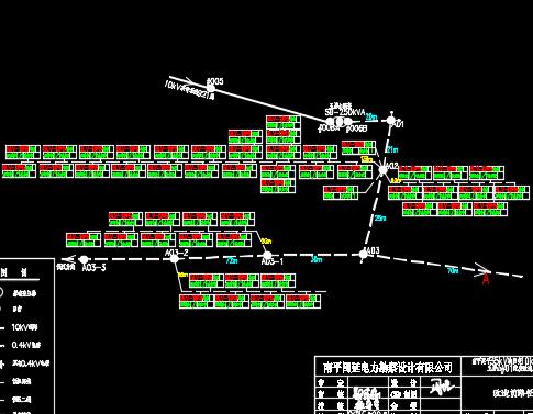 农村10KV电力网改造工程设计图纸