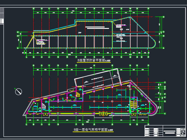 某十三层商务楼电气施工图