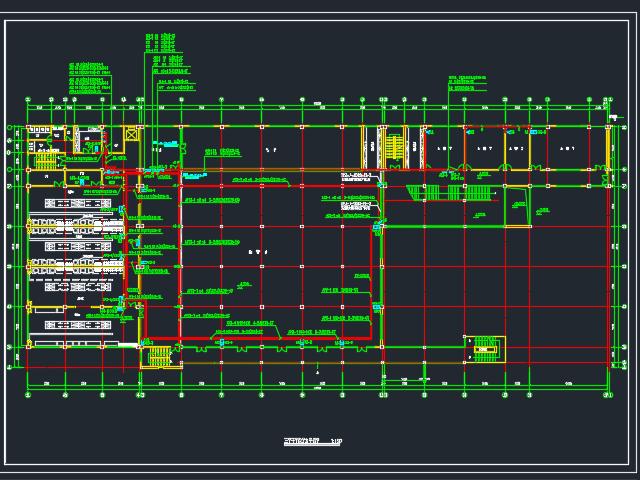 食堂电气施工图