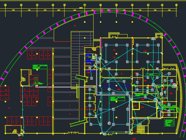 四层办公楼电气施工图