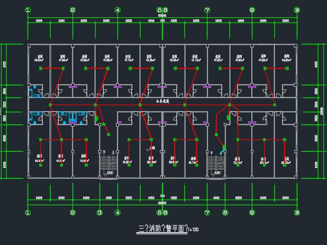 某汽车城电气施工图