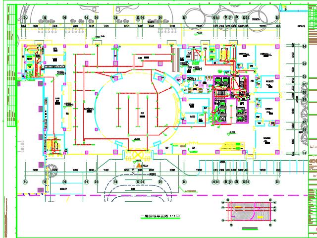 某高层酒店全套电气设计图