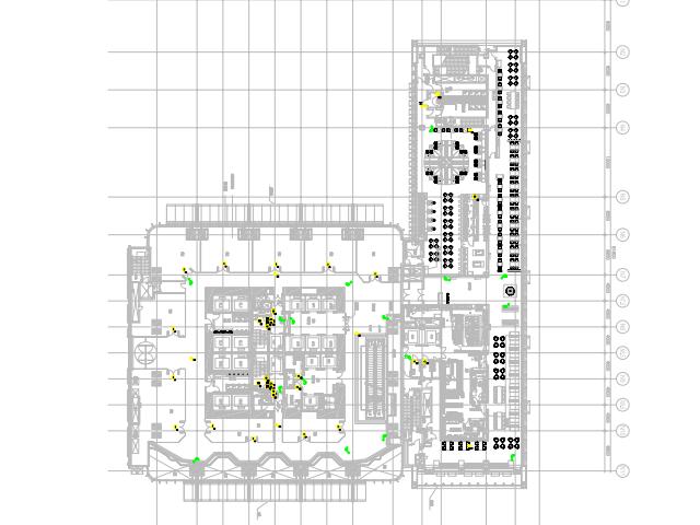 酒店弱电系统平面设计图(pdf格式)