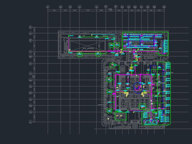 某酒店弱电系统平面设计图