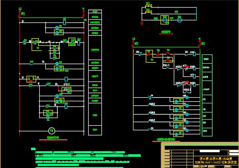 村村通自来水工程电气部分图