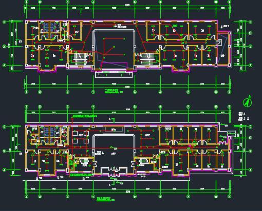 某会所电气施工图(含给排水)
