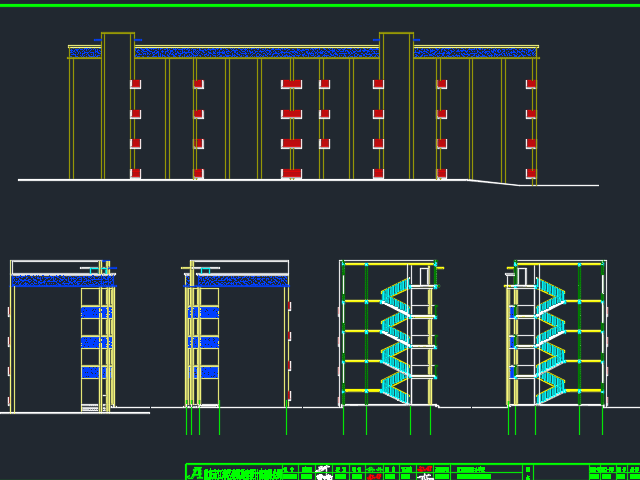 某综合楼建筑结构施工图(含水电暖)