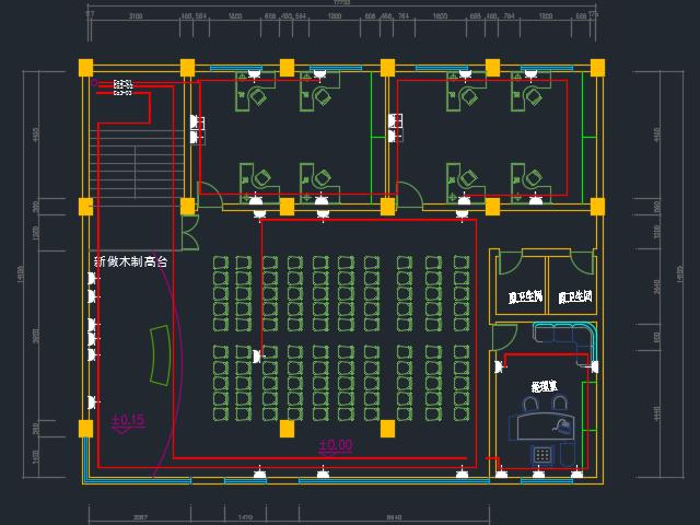 某办公楼装修电气设计图