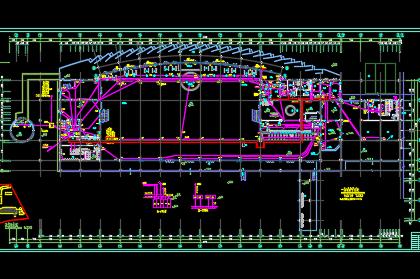三层汽车客运站施工图纸