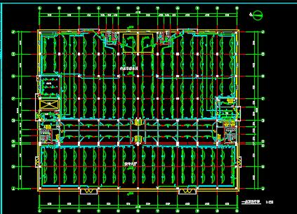 多层车间电气设计图纸