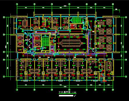 中医院全套电气施工图纸
