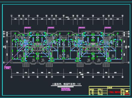 别墅电气施工图