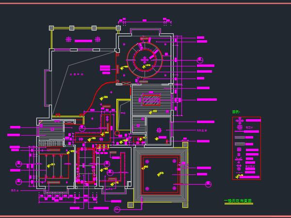 别墅装修电气改造设计图