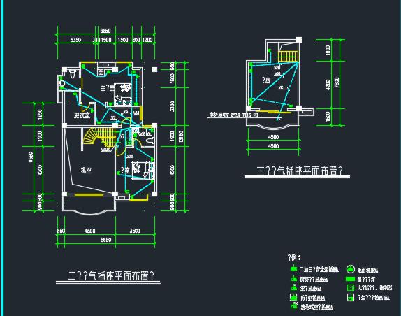 别墅电气设计图