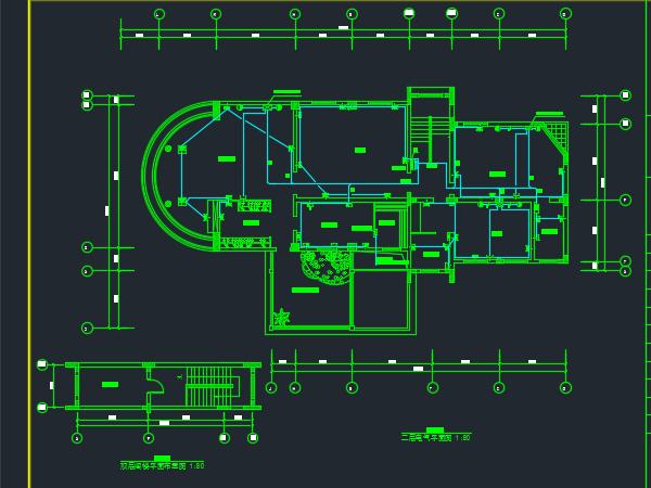 电气二次励志别墅设计设计图免费下载-图纸电气改造班会装修图片