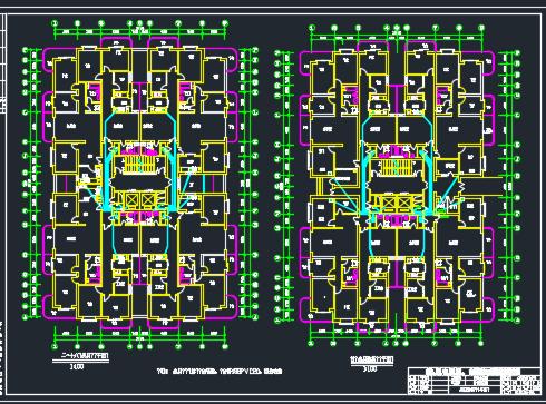 十八层住宅楼电气施工图