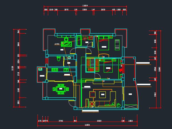 住宅电气电路设计图