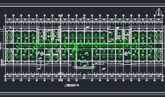 五层宿舍楼电气设计图