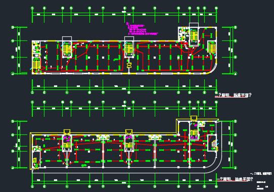 六层商住楼电气施工图