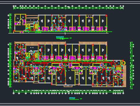 十层公寓电气施工图