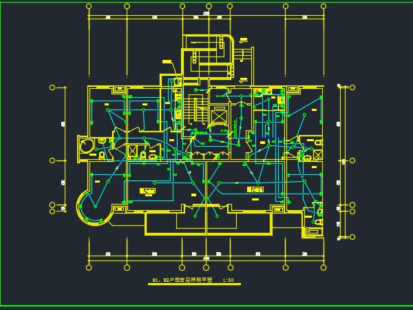 九层剪力墙住宅楼电气全套施工图