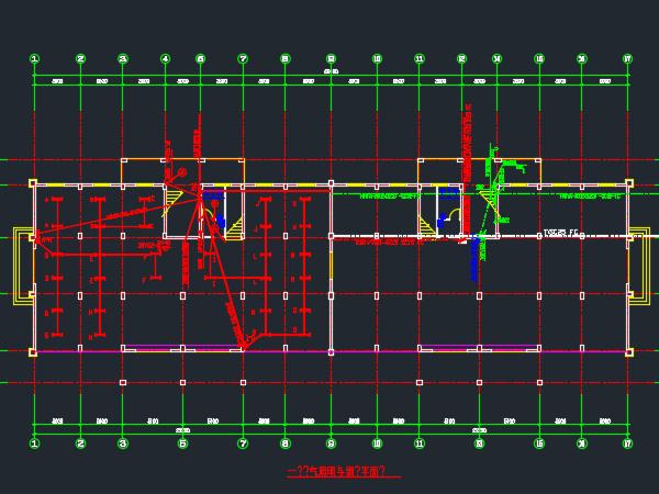 八层住宅楼电气设计图