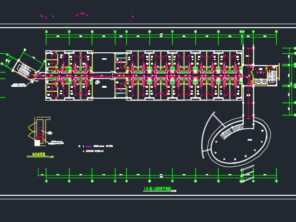 七层公寓楼电气设计图