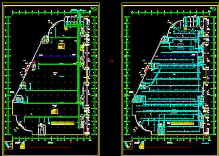 某地大型综合商场电气设计图纸