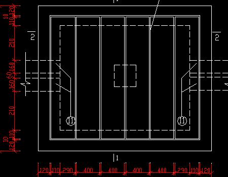直线电缆井施工图免费下载图片