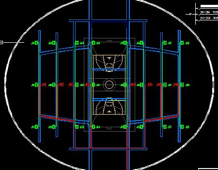 体育馆比赛场地灯光控制图