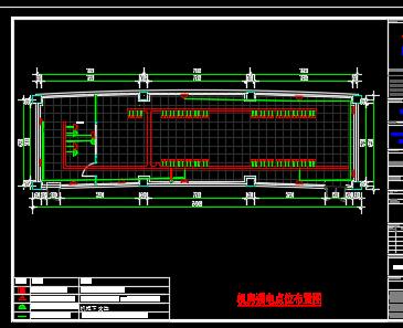 信息中心机房弱电施工图纸