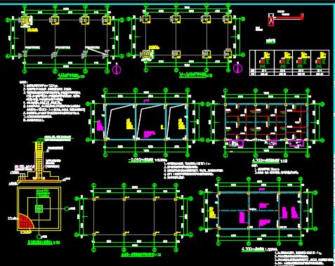小区配套独立式配电室施工图纸