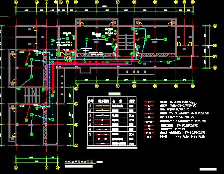 框架结构3层幼儿园电气设计施工图