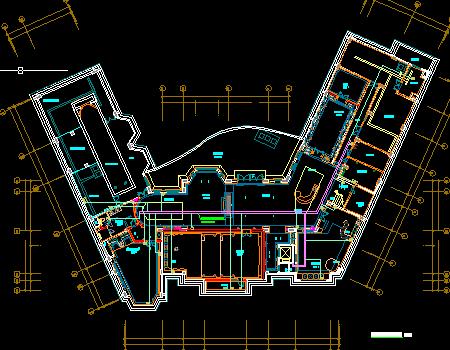 三层别墅弱电系统施工图