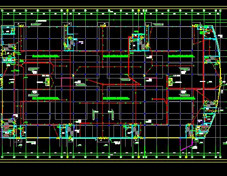 大型家具城电气施工图