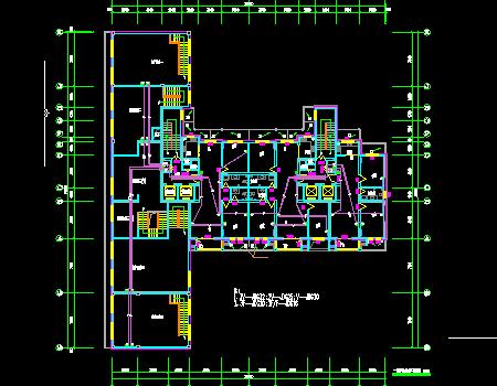 十八层商住楼强弱电施工图