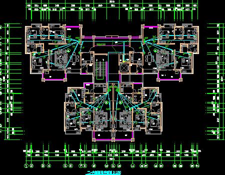 民用住宅楼电气施工图