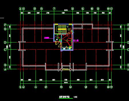 十一层住宅建筑强弱电施工图纸