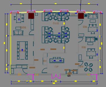 办公室装修设计图纸