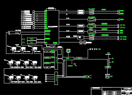 企业智能化弱电系统图纸