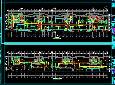 十五层安置楼电气施工图纸
