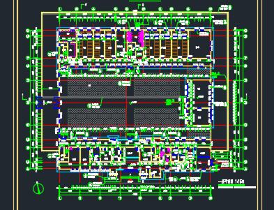 三层办公楼建筑设计图纸