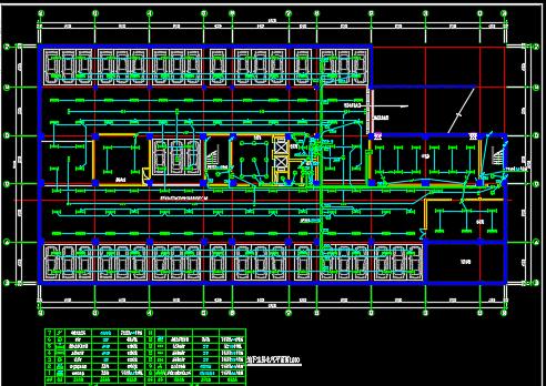 10层办公楼强电设计图纸